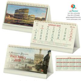 Calendario Italia Antica da tavolo, Art.68 grafica personalizzabile