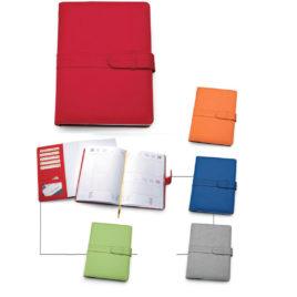 Agenda portafoglio in termovirante con la stampa del logo della tua azienda,  Art. A45