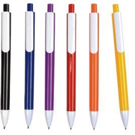Penna refil nero, fusto colorato, Art. 171