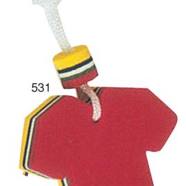 Portachiavi galleggiante maglietta con la stampa del tuo logo  Art. 531