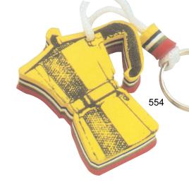 Portachiavi galleggiante caffettiera con la stampa del tuo logo  Art. 554
