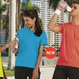 Maglietta Unisex Colori Fluo art. 915 con la stampa del tuo logo