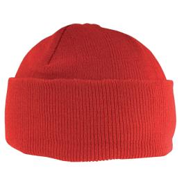 Cappellino zuccotto in acrilico, Art. 194 con ricamo logo  personalizzato.
