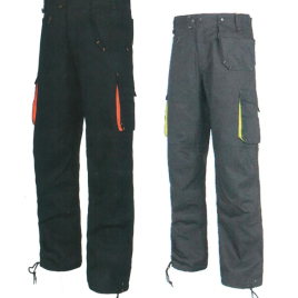 Divisa pantalone art. lv06 con la stampa del tuo logo.