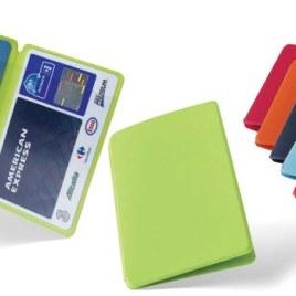 Portapatente/Portacarta di credito Art. 380 con il logo della tua azienda