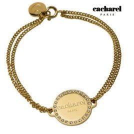 Bracciale da donna Cacharel in acciaio laminato oro giallo, Art. 759