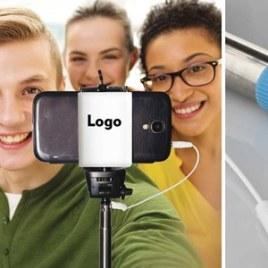 Mono pod selfie Art. 662 con il logo della tua azienda