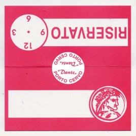 Cartoncini Riservato , Art. R104 con la stampa del tuo logo