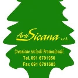 Deodorante Auto modello alberello, Art. 381 con il logo della tua azienda