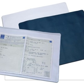 Portapolizze in PVC, Art. 387 con il logo della tua azienda