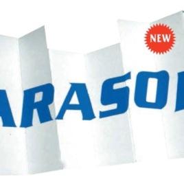 Parasole auto in cartone, Art. 389 con il logo della tua azienda