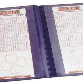 Porta/schedine per lotto, Art. 405 con la stampa del tuo logo