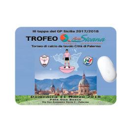 Tappetino mouse morbido, Art. 702 con stampa logo