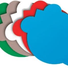 Tappetino mouse a forma di topolino, Art. 704 con stampa logo