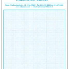 Blocco note cm. 15×21, Art. 329