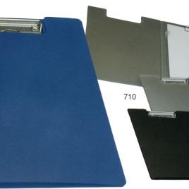 Cartella in PVC rigido, Art. 710 con la stampa del tuo logo