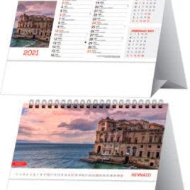 Calendario Città d'Italia da tavolo, Art.65 grafica personalizzabile