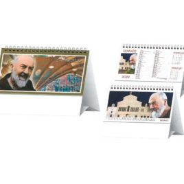 Calendario San Pio da tavolo, Art.64 grafica personalizzabile