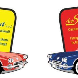 Deodorante modello auto Art. 383 con il logo della tua azienda