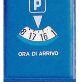Disco orario mini adesivo Art. 391 con il logo della tua azienda