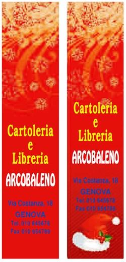 Segnalibro Natalizio, Art. 604 con la stampa del tuo logo