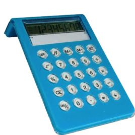 Calcolatrice 8 cifre, Art. 688 con stampa logo