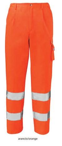 Pantalone alta visibilità art. lv32 con la stampa del tuo logo.
