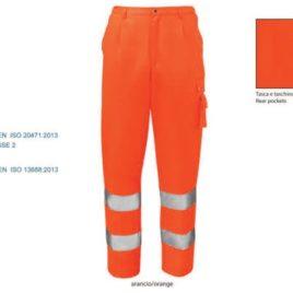 Pantalone alta visibilità art. lv37 con la stampa del tuo logo.
