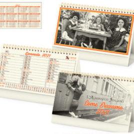 Calendario Come Eravamo da tavolo, Art.63 grafica personalizzabile