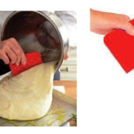 Raschietto taglia pane in pasta, Art. 428 con il logo della tua azienda.