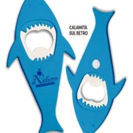 Apribottiglia pesce calamitato Art. 433 con la stampa del tuo logo.