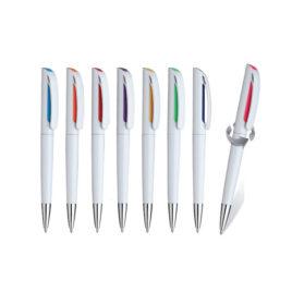 Penna a rotazione refil nero, Art. 178 con la stampa del tuo logo