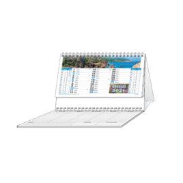 Calendario Mari da tavolo con blocco, Art.71 grafica personalizzabile