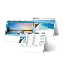 Calendario Tropicale da tavolo, Art.73 grafica personalizzabile